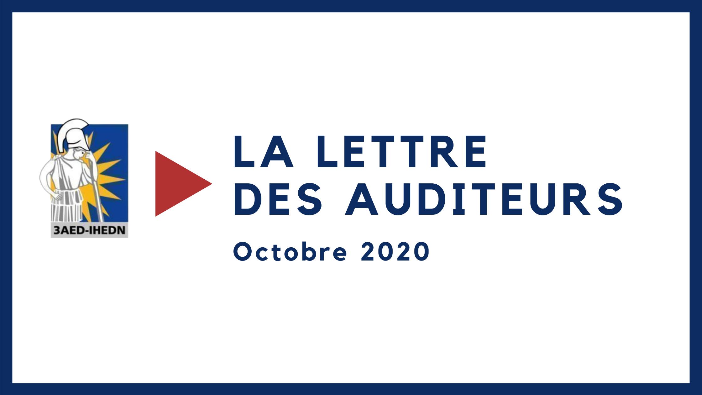 La lettre des auditeurs octobre 2020