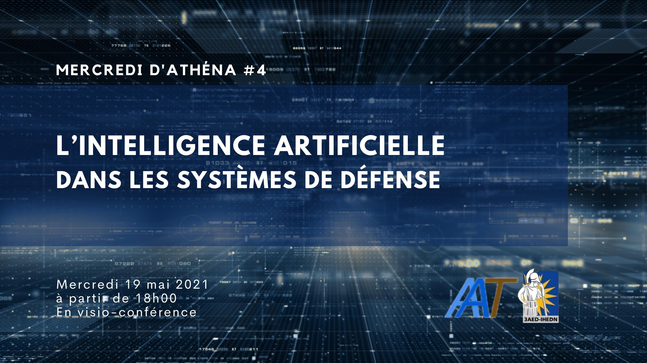 Mercredi d'Athéna #4 | L'intelligence artificielle  dans les systèmes de défense