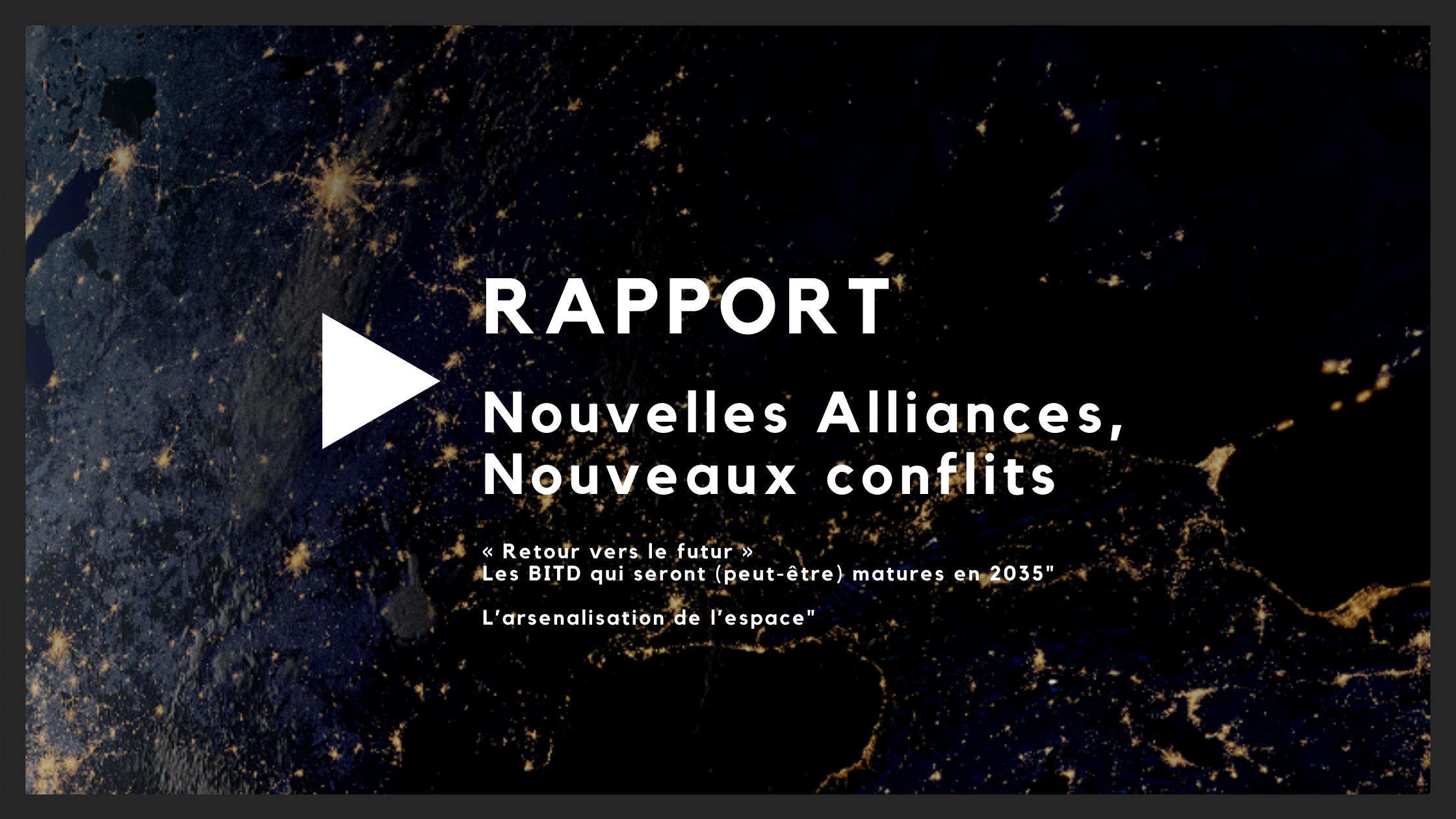 """Rapports de GRA : """"Nouvelles alliances, Nouveaux conflits"""""""