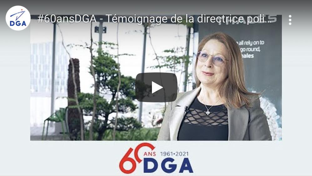60 ans de la DGA : témoignage de la directrice politique produit groupe de Thales