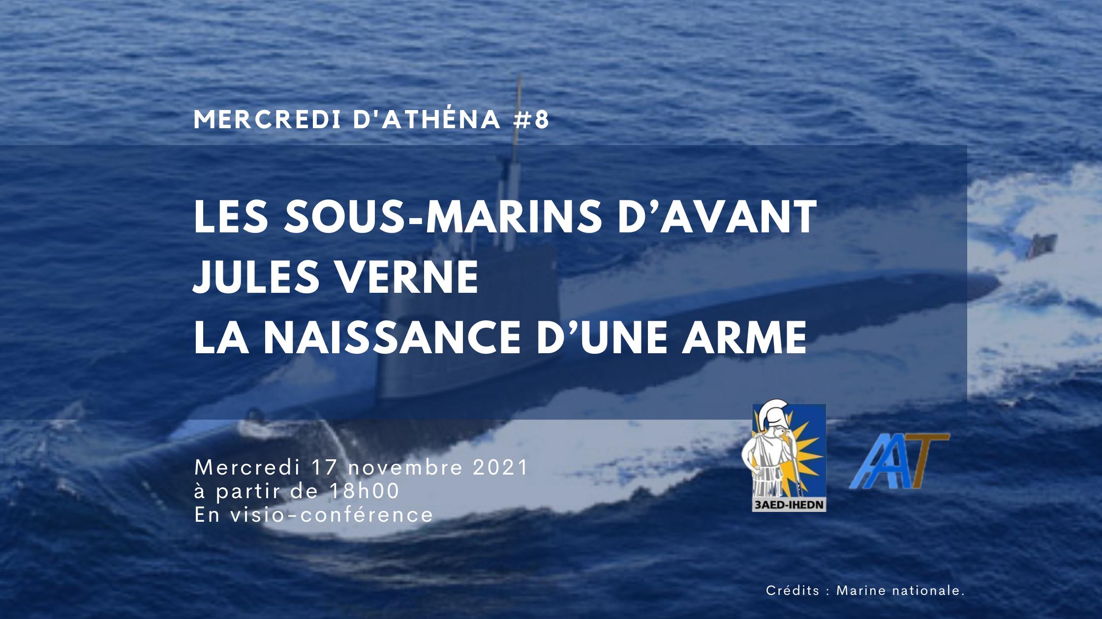 Mercredi d'Athéna #8 |Les sous-marins d'avant Jules Verne – la naissance d'une arme